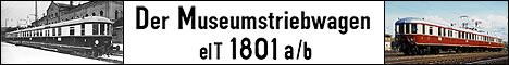 Der Museumstriebwagen elT 1801 a/b